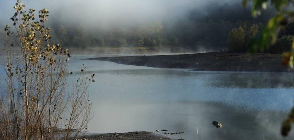 Las lluvias de las últimas semanas mejoran las reservas de los embalses guipuzcoanos