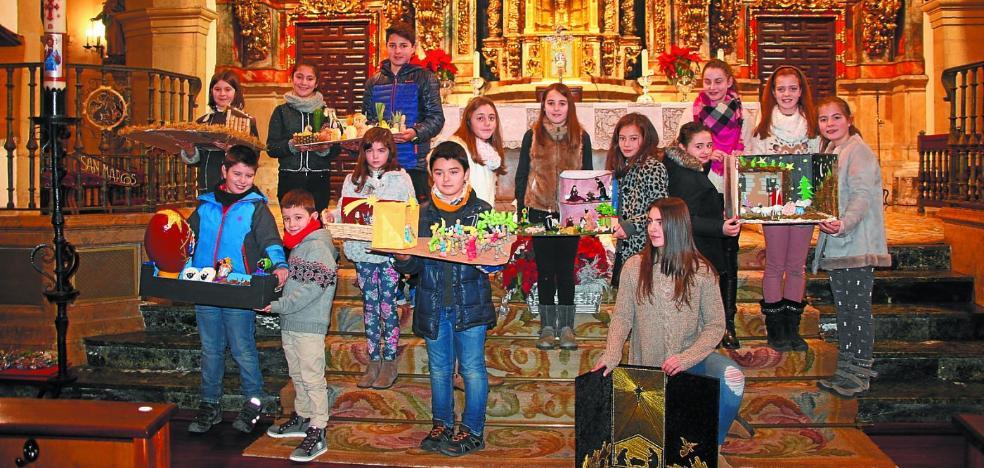 La parroquia abre su concurso de belenes a participantes de todas las edades