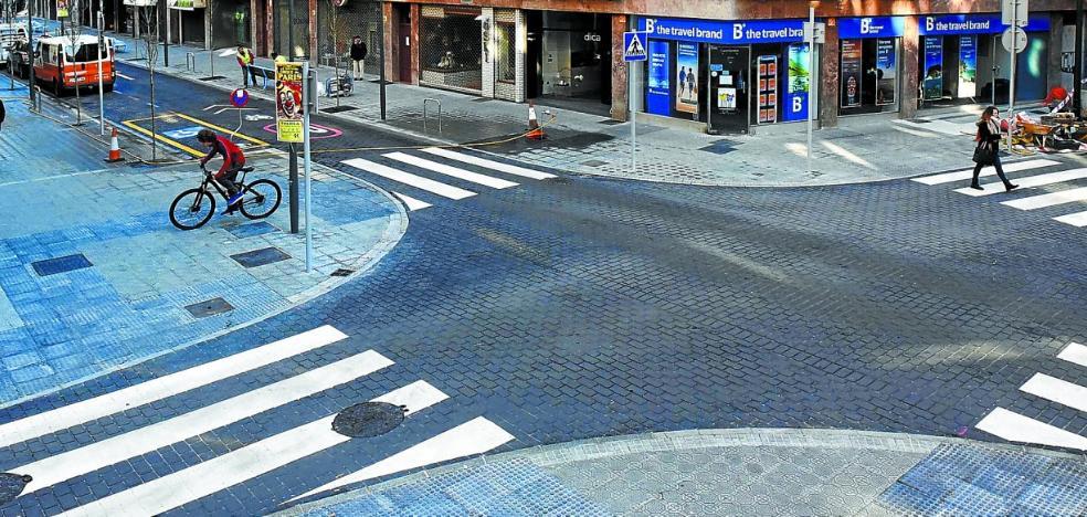 La avenida de Navarra, antes y después