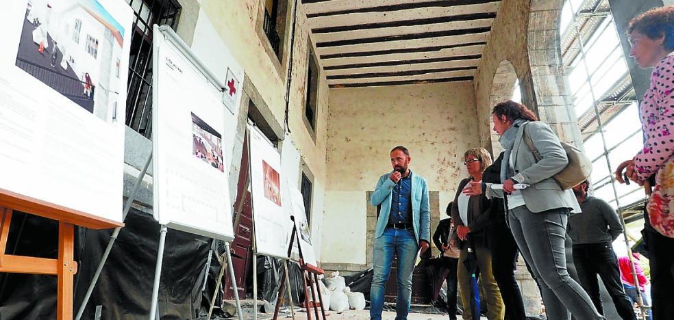 La Casa de Cultura mostrará el desarrollo final de Aita Agirre