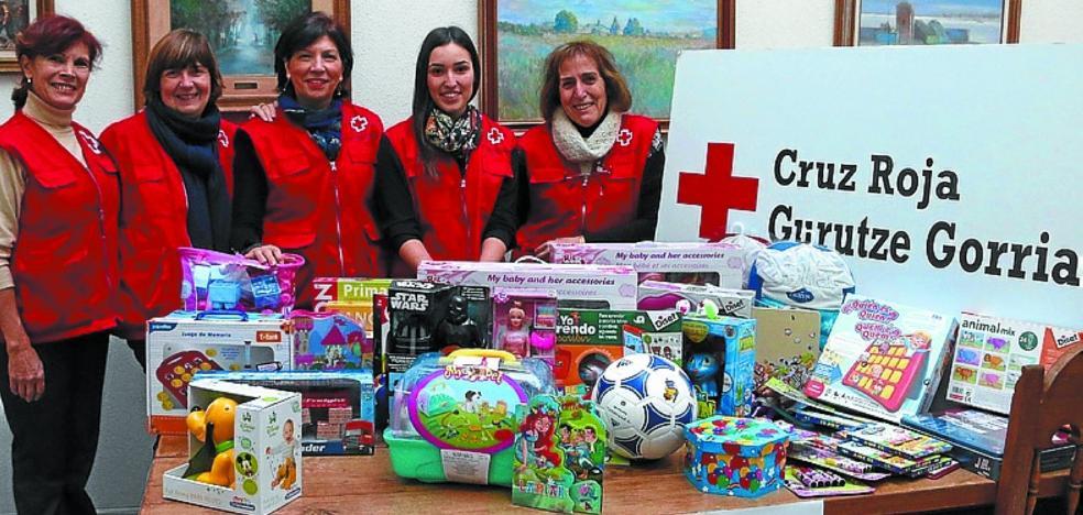 La recogida de juguetes de Cruz Roja comienza mañana