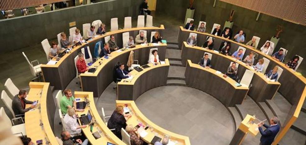 El Proyecto de Presupuestos de Gipuzkoa sigue su tramitación tras decaer las enmiendas a la totalidad de Podemos y EH Bildu