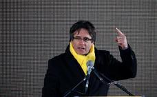 Puigdemont se gastó medio millón en la publicidad del 1-O