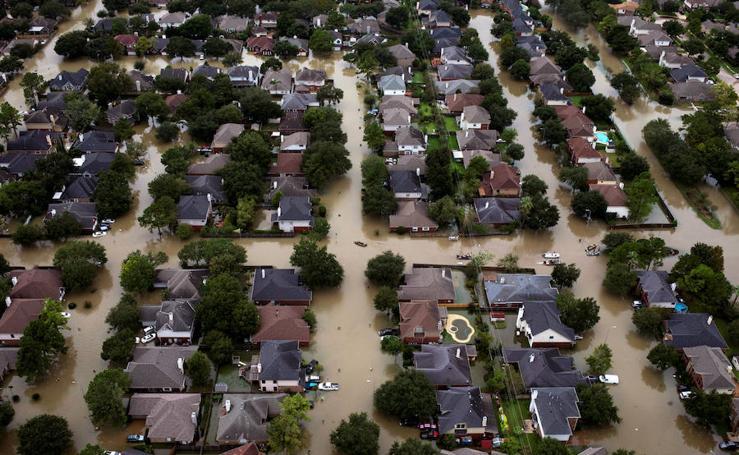 Houston bajo agua
