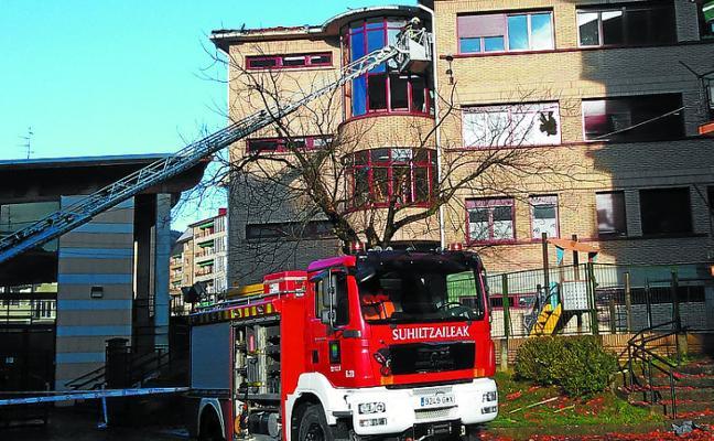 La borrasca 'Ana' generó importantes destrozos, especialmente en Laubide