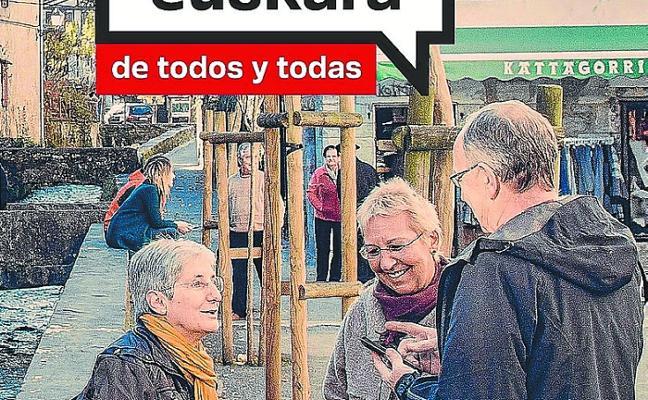 Nueva campaña del Gobierno de Navarra para impulsar el euskera
