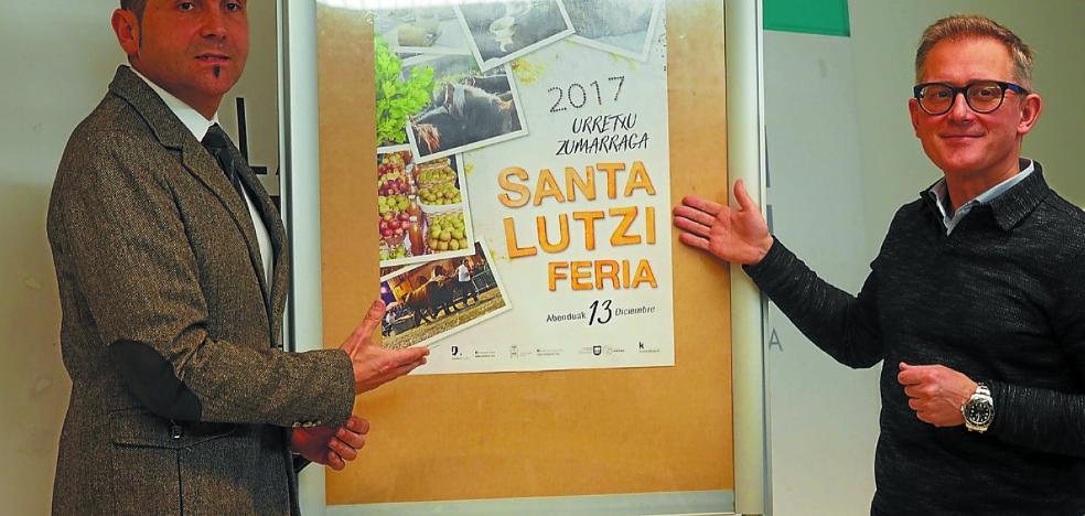 La feria de Santa Lucía instalará 451 puestos en Zumarraga y Urretxu