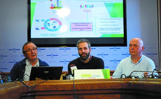 EH Bildu plantea 18 enmiendas y un «escenario presupuestario abierto»