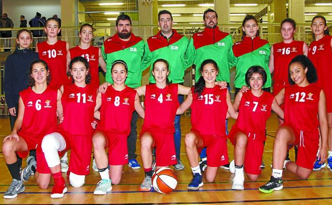 Euskadi gana el torneo infantil femenino de baloncesto