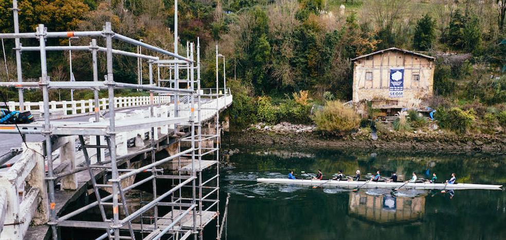 El puente de Astiñene se reabrirá al tráfico de todo tipo de vehículos dentro de tres meses