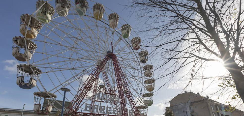 Baja el precio de la noria del Mercado de Navidad de Donostia