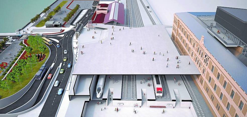 El diseño técnico de la estación del TAV en Donostia estará en diez meses