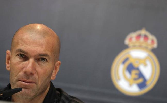 Zidane: «Sólo pensamos en el Al Jazira, no en la Liga, ni en otras cosas»