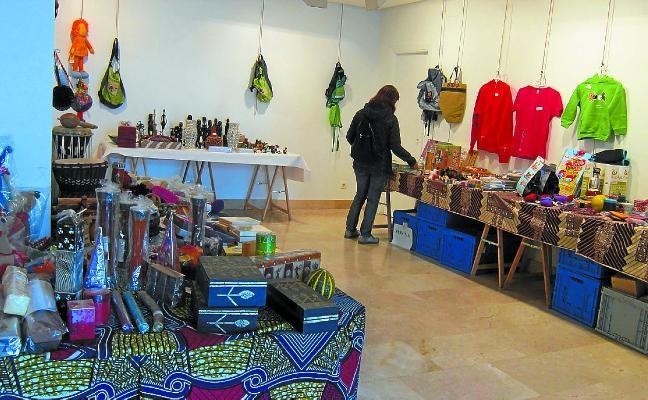 La tienda de comercio justo está abierta hasta el sábado