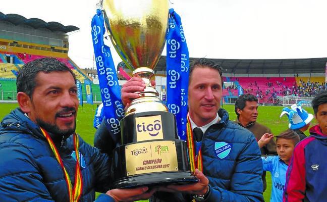 Un donostiarra, bicampeón de Bolivia