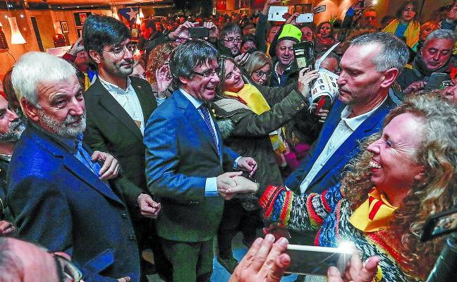 Puigdemont regresará si gana las elecciones para ser investido president de la Generalitat