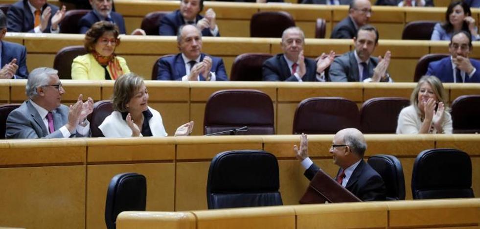 El Senado aprueba definitivamente el nuevo Cupo vasco