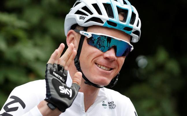 Froome, positivo en un control de dopaje en la Vuelta 2017