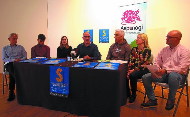 La San Silvestre, un concierto y una cena para ayudar a Aspanogi