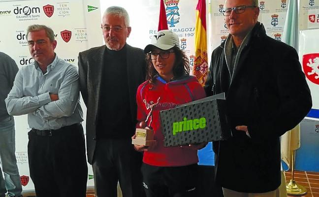 Ane Mintegi gana el XIII Máster Nacional infantil de tenis