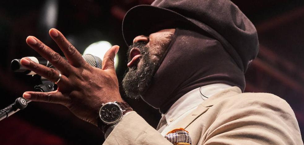 Gregory Porter volverá al proximo Jazzaldia para cantar a Nat King Cole