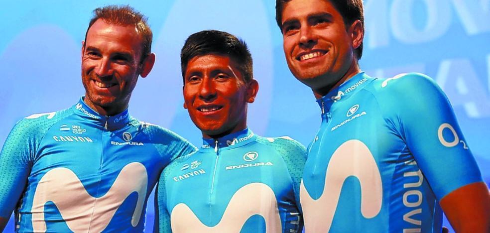 Movistar irá al Tour con Quintana, Valverde y Landa