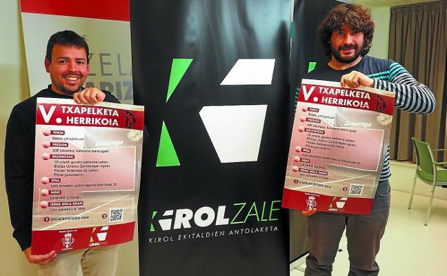 El Beloki convoca la quinta edición del Torneo popular de pelota a mano