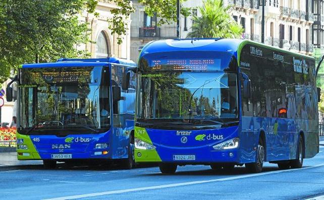 Denuncian intentos de generar alarmismo en torno a los autobuses de Buruntzaldea