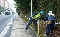 Euskotren denuncia el ataque a dos operarios de las obras de la pasante de Donostia