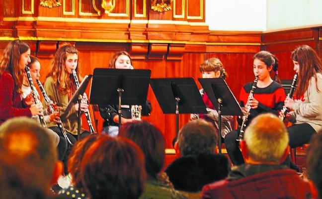 Concierto-concurso de cuartetos de clarinete, esta tarde en el convento