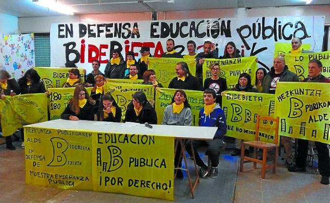 El Instituto de Bidebieta llega al Parlamento Vasco