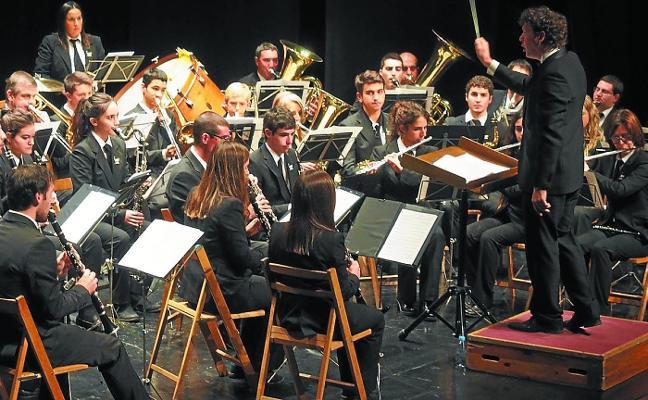 La Banda compartirá concierto con un coro de sesenta escolares locales