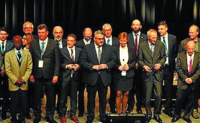 Lasarte-Oria se ofrece para la 2ª conferencia de ciudades Michelin
