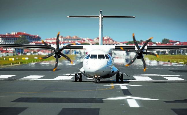 El aeropuerto de Hondarribia obtiene el certificado de seguridad europeo