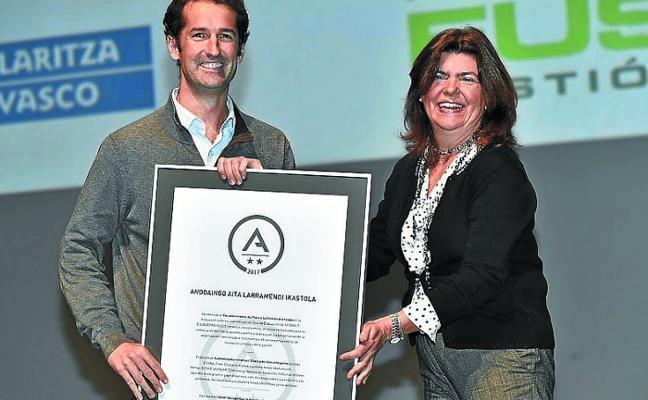 Aita Larramendi Ikastola obtiene el certificado A de plata en gestión avanzada