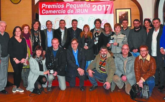 Casa Mirón recibió el premio al comerciante irunés del año 2017