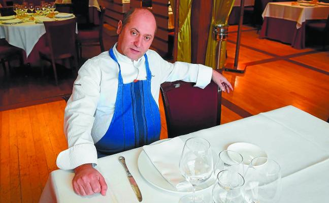 Roberto Ruiz Aginaga (Cocinero del restaurante Frontón): «Tolosa me ha hecho cocinero y formado como persona»