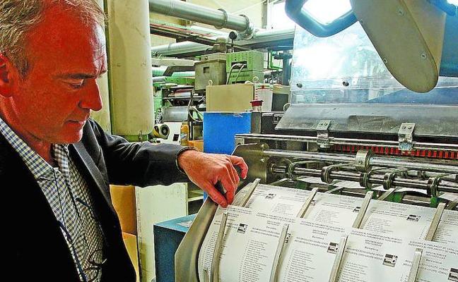 Papeletas 'made in Gipuzkoa' para el 21-D
