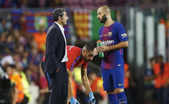 Mascherano dice adiós al Barça y se marcha al Hebei Fortune chino