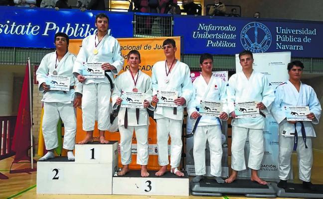 El judoka Amets Karrera fue tercero en el Estatal de categoría cadete