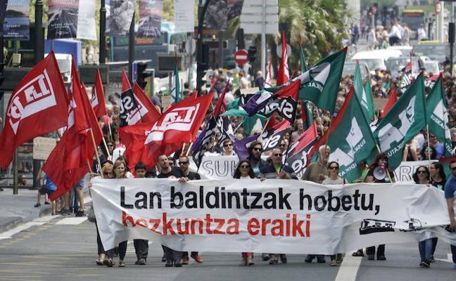 Trabajadores de la enseñanza concertada anuncian «más huelgas y movilizaciones»