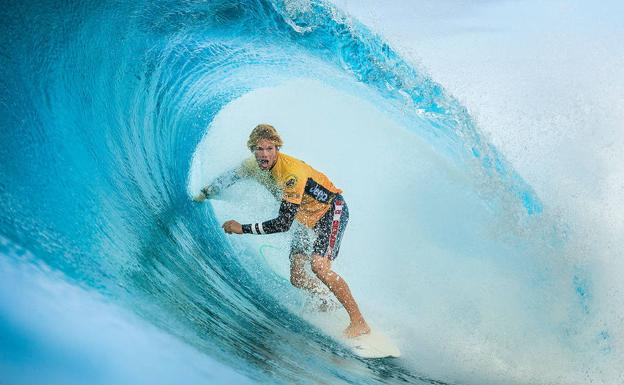 John John Florence campeón del mundo de la World Surf League