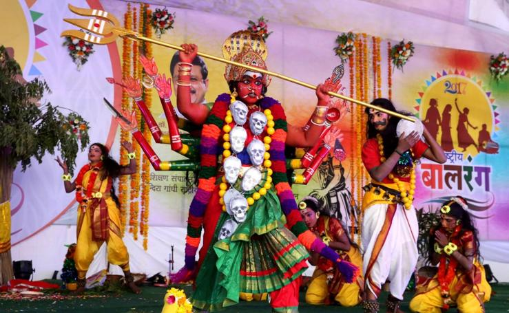 Balrang Festival 2017 en Bhopal, India