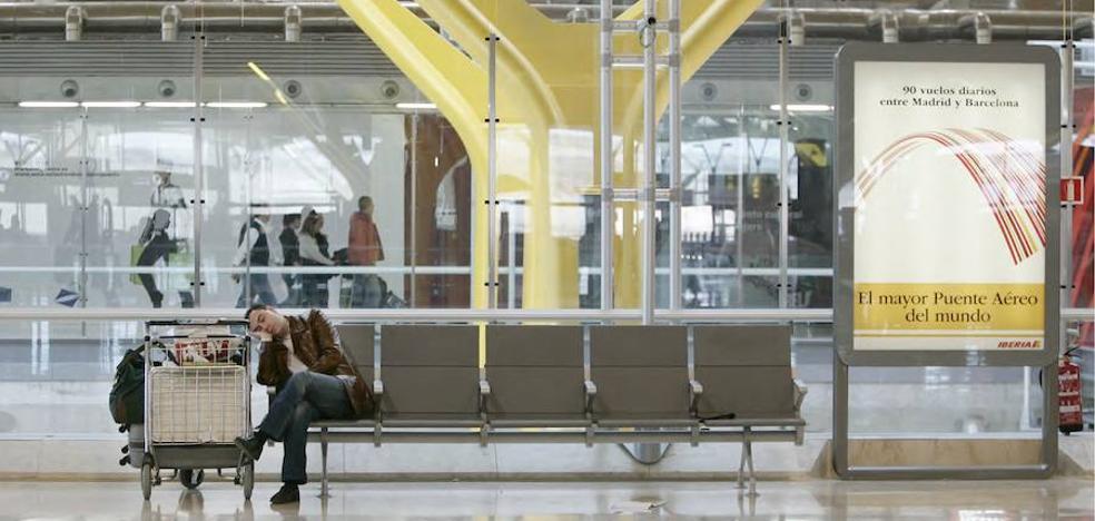 El juzgado suspende la huelga de los empleados de seguridad de Barajas