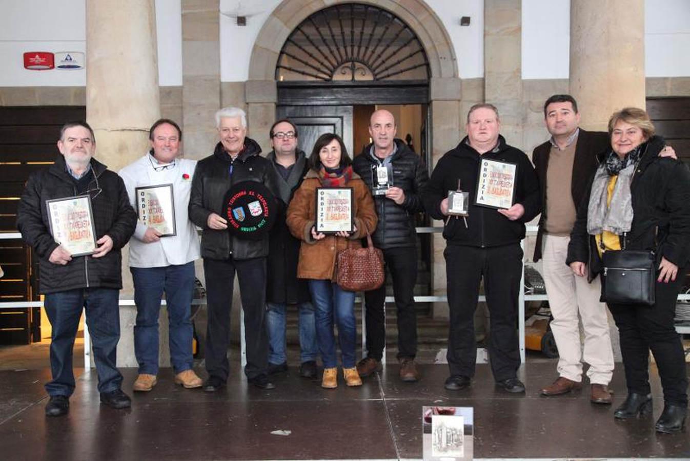 La carnicería Larragueta se lleva el XX 'Campeonato de txistorra de Euskadi'