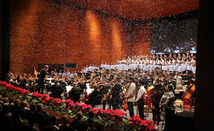 Solidario concierto de Navidad de 'El Diario Vasco