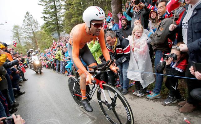 Tom Dumoulin tratará de revalidar su victoria en el Giro