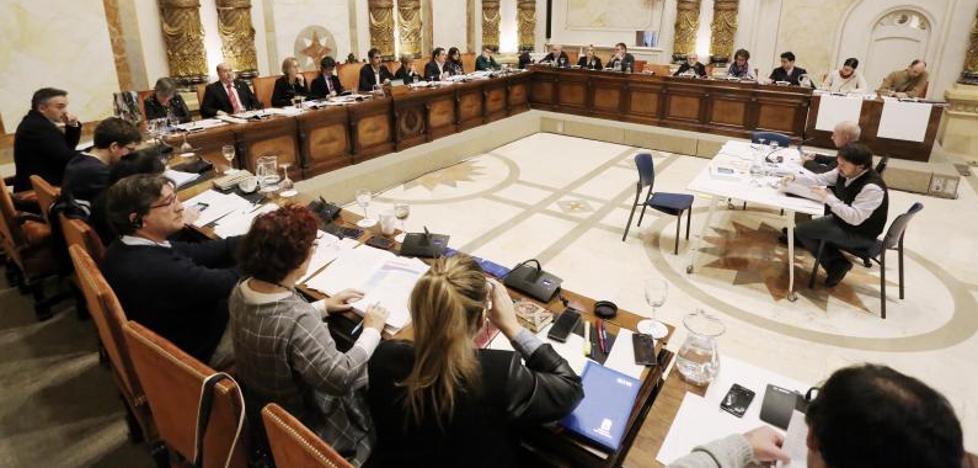 Donostia aprueba un presupuesto de 445 millones con 3,8 acordados con la oposición