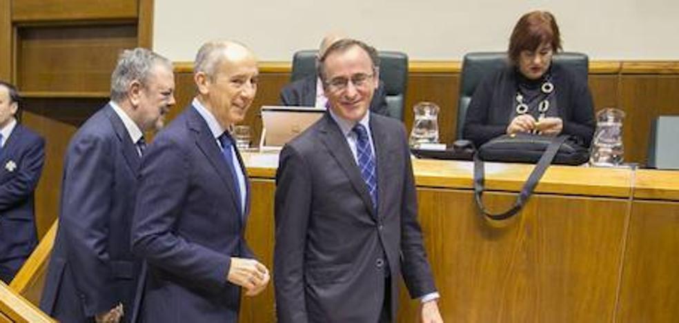 El Gobierno Vasco da luz verde a los Presupuestos de 2018 gracias a la abstención del PP