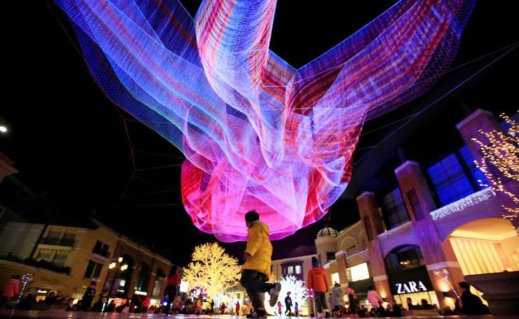 Festival de luces en Beijing